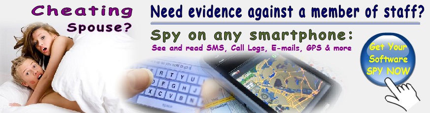 Smart phone spy software